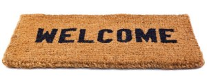 LBF- Tapis Welcome brun