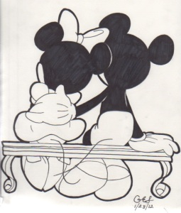 LBF minnie et mickey