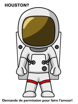 LBF astronaut