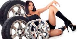 Sexy pneus