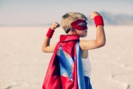 Super-Héro petit garçon