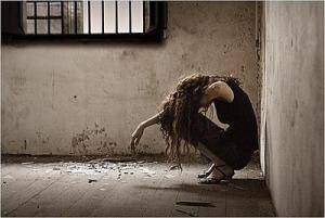 LBF femme déprimée