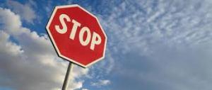 LBF STOP panneau