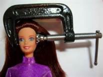 LBF barbie étau