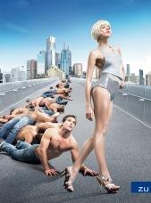 LBF men follow woman